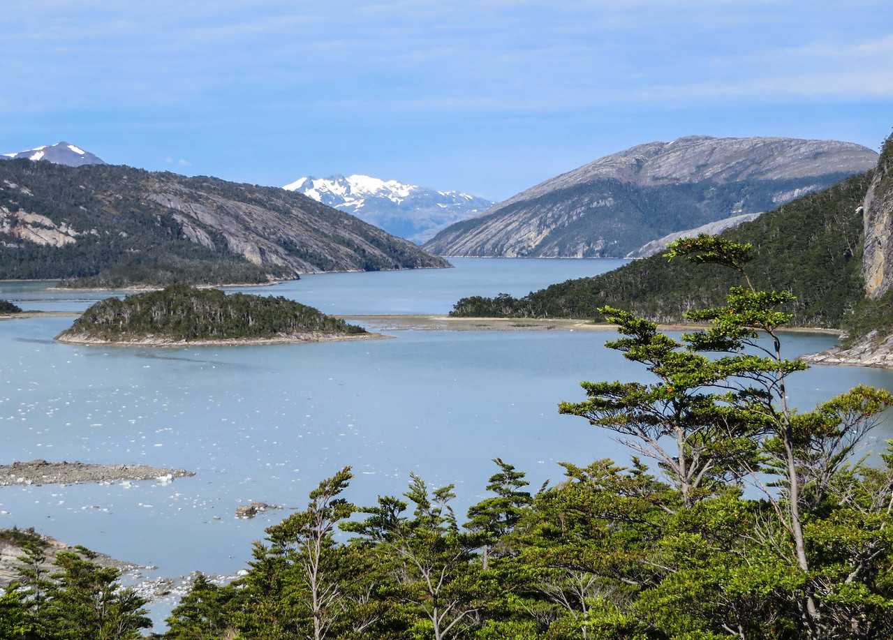 Looking  south towards the Beagle Channel