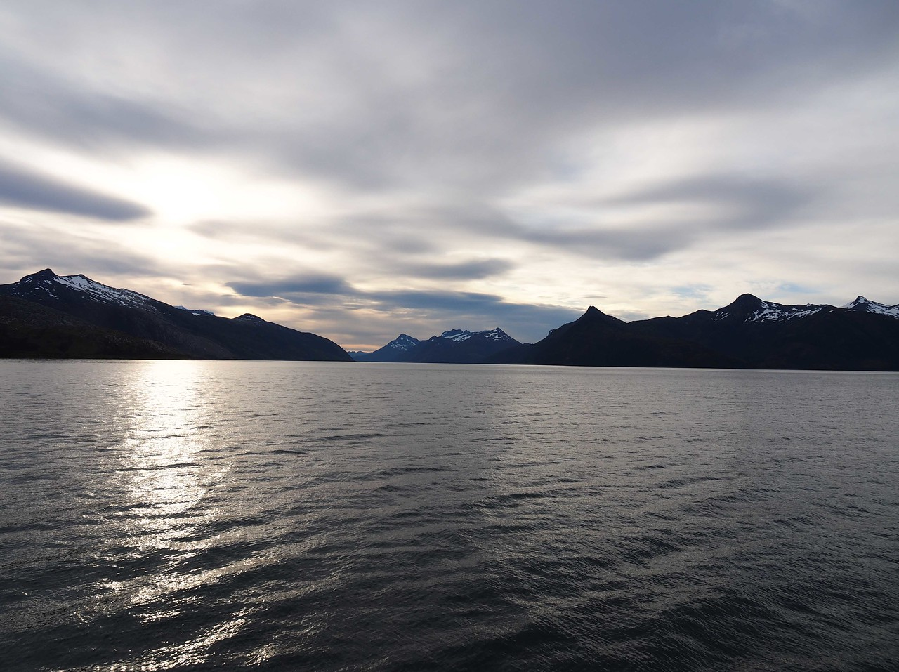 The Beagle Channel in the morning light