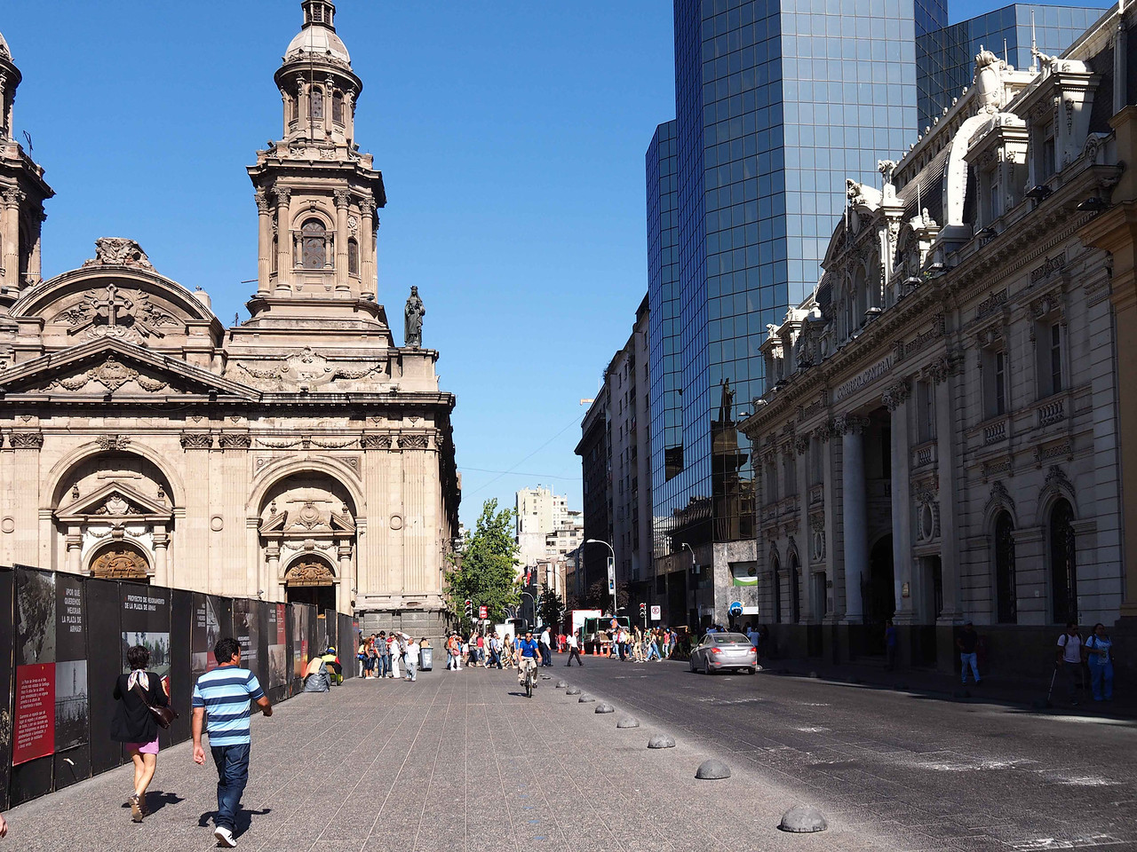 Street Scene, Santiago