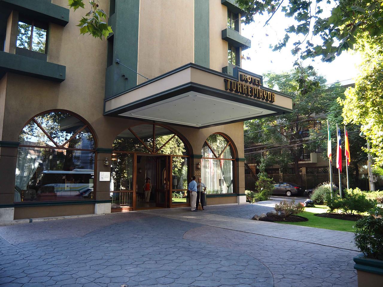Hotel Torremayor,  Our hotel in Santiago