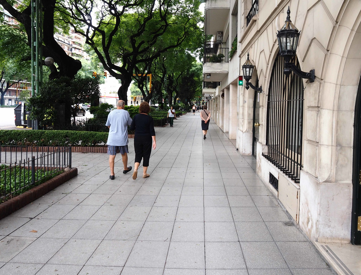 Walking in the Palermo District