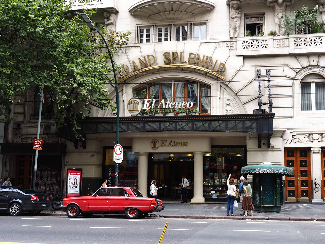 Atenea Bookstore in Recoleta District