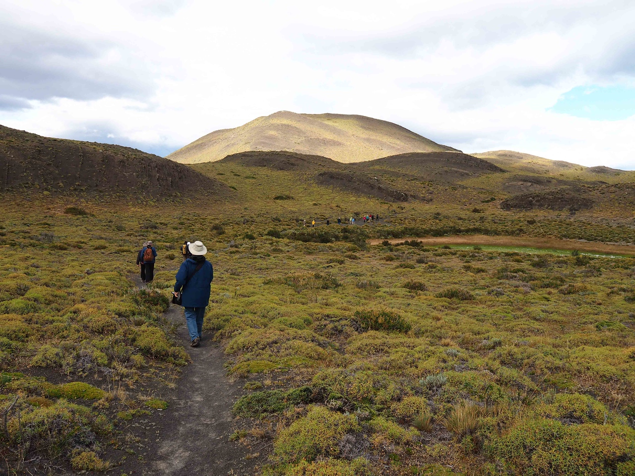 Hiking on the Pampas