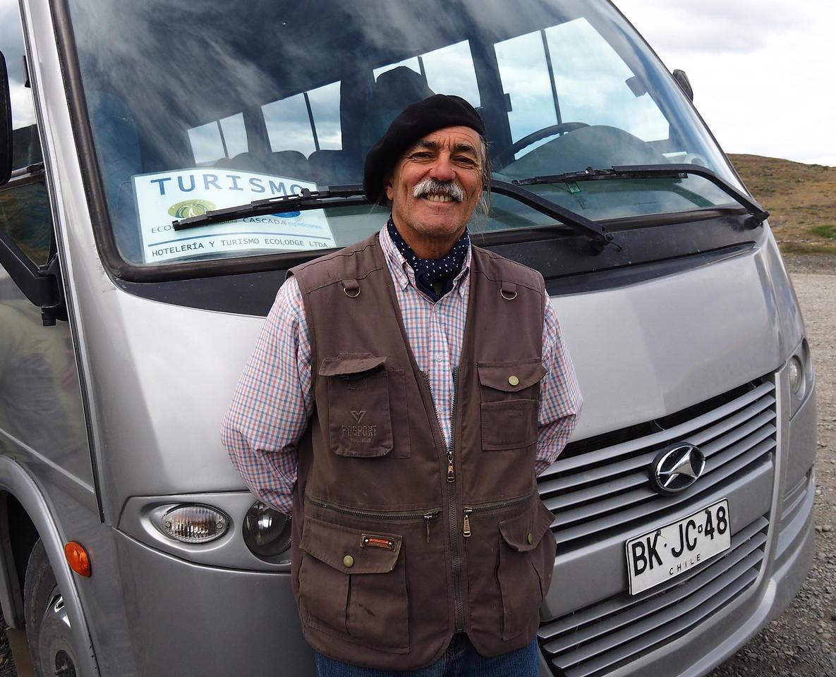 "Carlos (aka ""Mad Max"") our van driver."