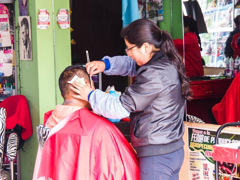 Barbershop,, Izcuchaca