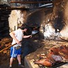 Baker at his oven, Izuchaca