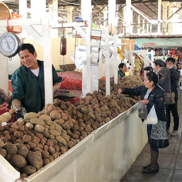 Potatoes, Potatoes, and Potatoes, San Pedro Market