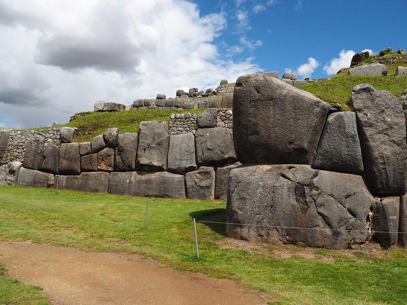 Massive Stone Walls, Saqsaywaman Cusco