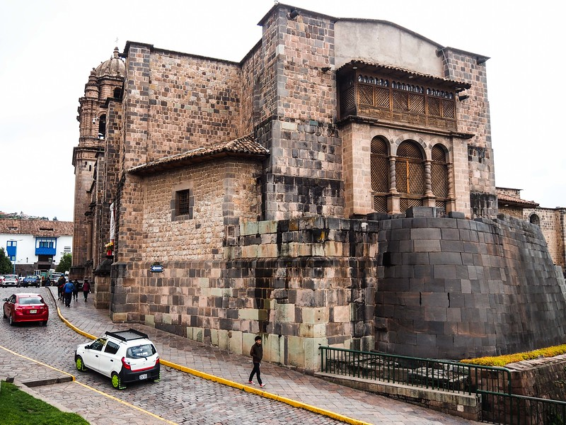 Spanish Church Built Atop Inca Temple of the Sun