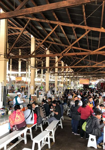 """Food Court"", San Pedro Market"