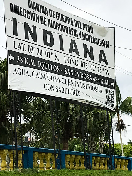 The Town of Indiana, on the Amazon River