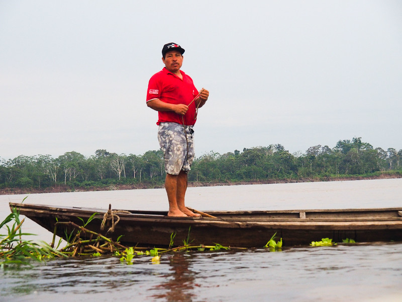 Fisherman on the Amazon