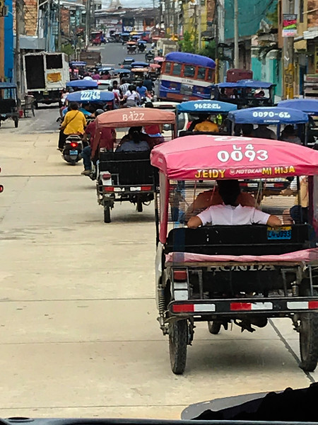 Moto Taxis, Iquitos