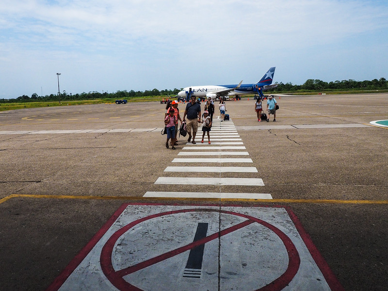 Arrival in Iquitos
