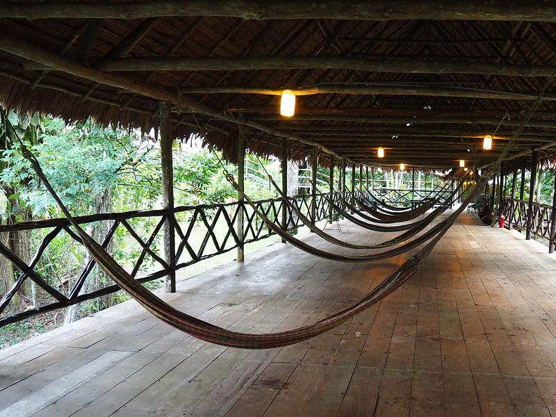 Hammocks, Explorama Lodge