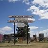 Sign Near Kinsley Kansas
