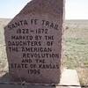 Santa Fe Trail Marker, Cimmaron National Grassland