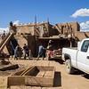 Rebuilding, Taos Pueblo