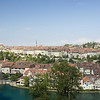 Panoramic View of Bern and the Aare River