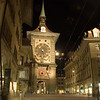 The Town Clock at night