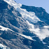Avalanche on the Jungfrau