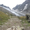 Trail to the glacier and the Annenhut
