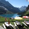 Lunch spot above Oeschinensee