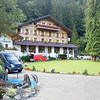 Our hotel, the Doldehorn, in Kandersteg.
