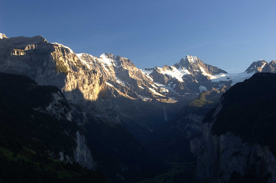 The Eiger and Jungfrau