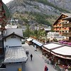 View of Zermatt from our hotel room