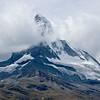 Cloud covered Matterhorn (view from Zermatt)