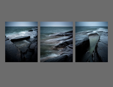 Silver Harbour Triptych