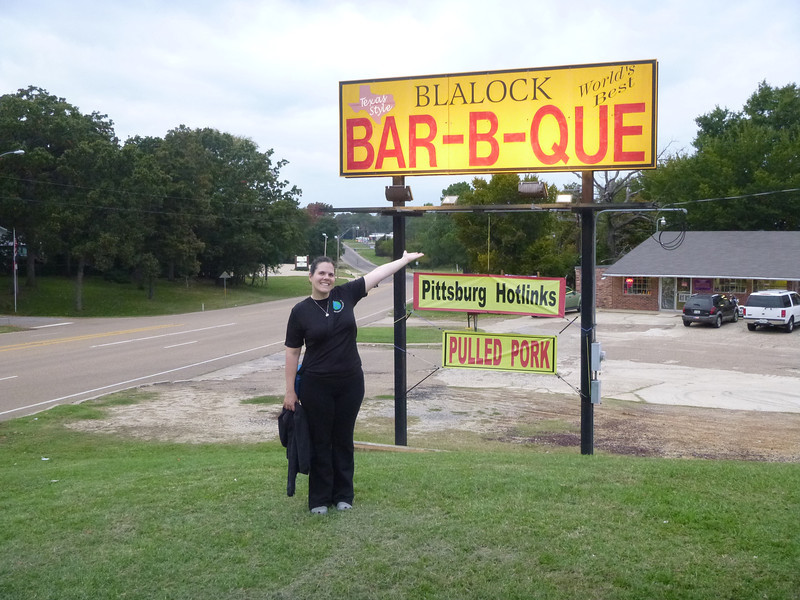 Apparently this is home of the World's Best Bar-B-Que!