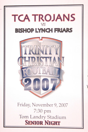 TCA vs Bishop Lynch 11-9-2007