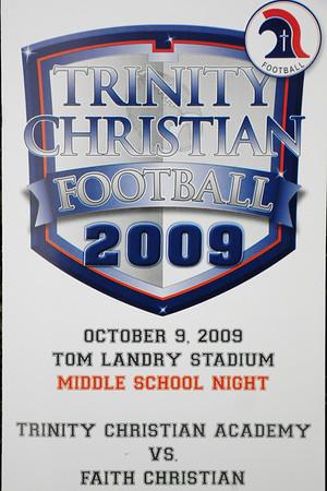 TCA vs Faith Christian 10-07-2009