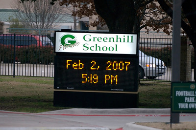 2-2-2007 TCA vs. Greenhill