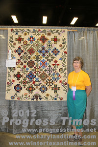 "Third Place - Wall Hangings ""Pieces of Time Sampler"" Alice Gibson"