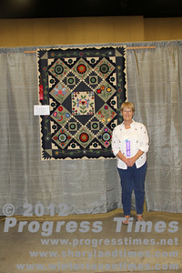 "Second Plce - Small Bed Quilts ""Pennies from Heaven"" Sharon Trumpy"
