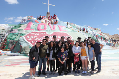 Spring Break Retreat Salvation Mountain