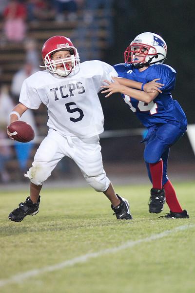 TCPS versus Heritage Academy Pee Wee Football