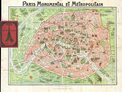 Métro Paris - 1920