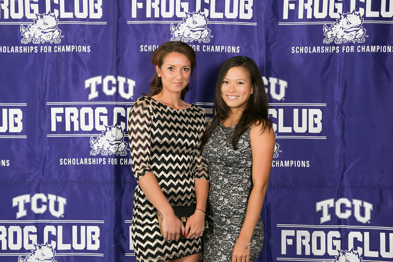 TCU All Sports Banquet in the Stadium Club on the Campus of Texas Christian University in Fort Worth, Texas on April 30, 2014. (Photo by/Sharon Ellman)