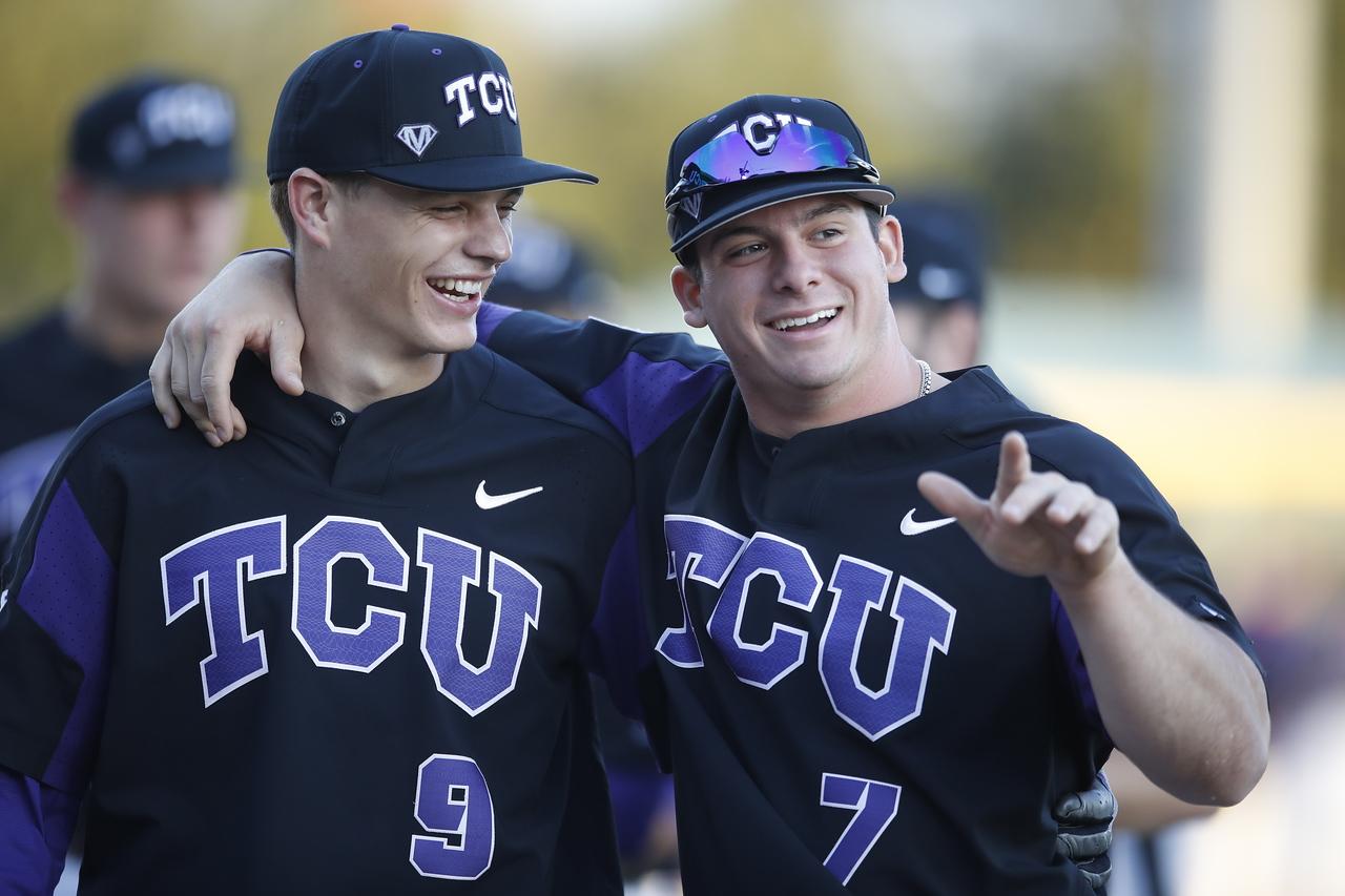 TCU vs UTA baseball in Fort Worth Texas on March 1, 2018. (Photo/Sharon Ellman)