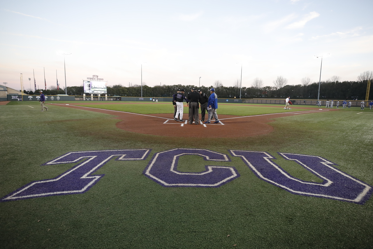 TCU vs UTA baseball in Fort Worth Texas on March 1, 2018. (Photo/Sharon Ellman)