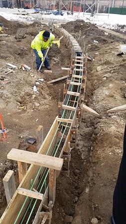 20160129_radius concrete curb form work