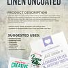 Linen Cards