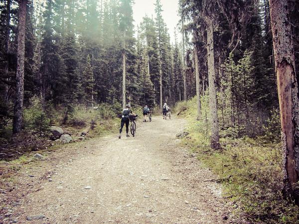 A little hike-a-bike!