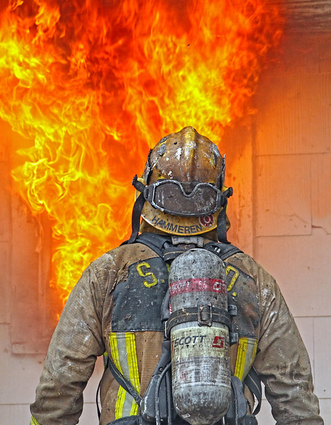 Face Your Demons. Fire training in Hillsboro, Texas. January 2018