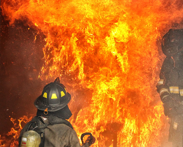 Hill College Fire Training. 2018