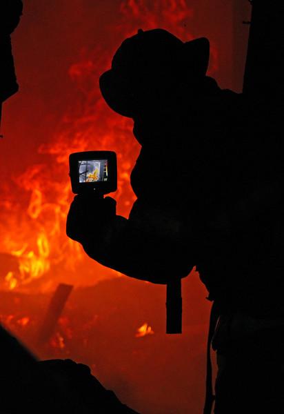 Fire training Hillsboro, Texas January 2018.